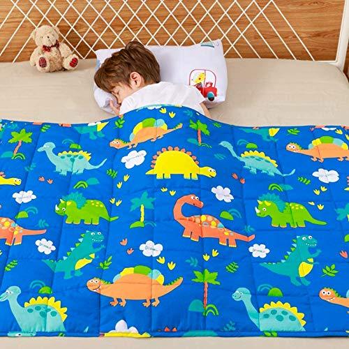 Anjee Kinder-Gewichtsdecke, 100% natürliche Baumwolle, Schwere Decke für Kinder und Jugendliche, 2.3kg...