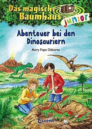 Das magische Baumhaus junior 1 - Abenteuer bei den Dinosauriern: Kinderbuch zum Vorlesen und ersten...