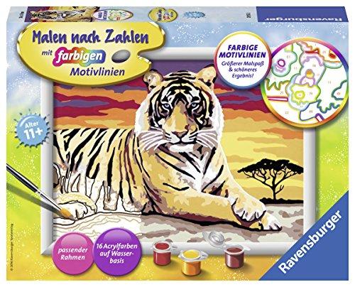 Ravensburger Malen nach Zahlen 28553 - Majestätischer Tiger
