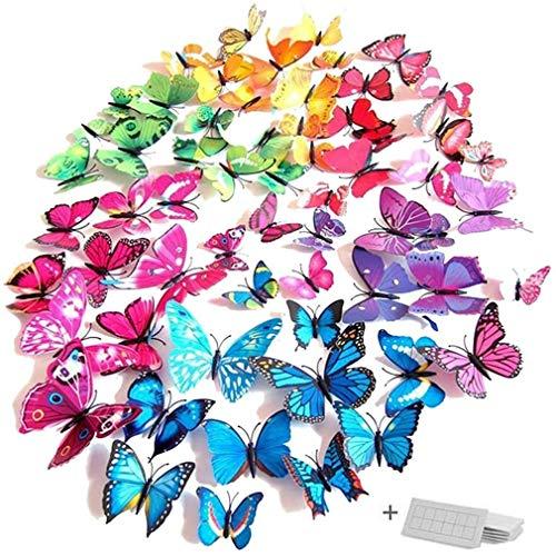 Wandsticker Schmetterlinge leuchten im Dunkeln