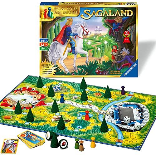 Ravensburger 26424 - Sagaland - Gesellschaftsspiel für Kinder und Erwachsene, 2-6 Spieler, ab 6 Jahren, Spiel...