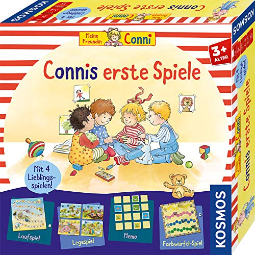 KOSMOS 681043 Connis erste Spiele Spielesammlung