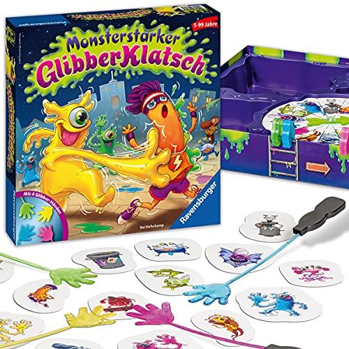 Ravensburger Kinderspiel 21353 - Monsterstarker Glibber-Klatsch - Gesellschafts- und Familienspiel, für...