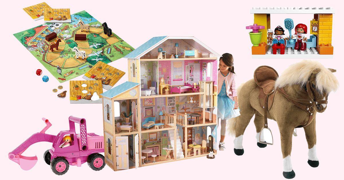 61 Teile Viele Plastik-Tiere Bauernhof Holzspielzeug Set