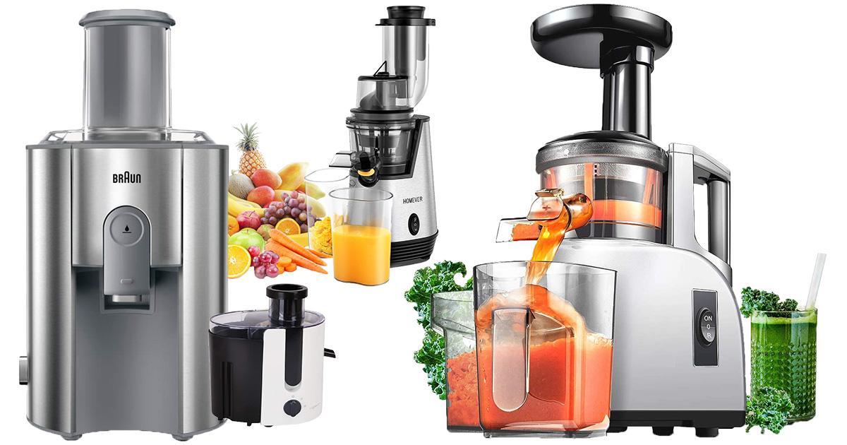 Entsafter Saftpresse BPA-frei Slow Juicer Edelstahl Presse Ausgestattet Gemüse