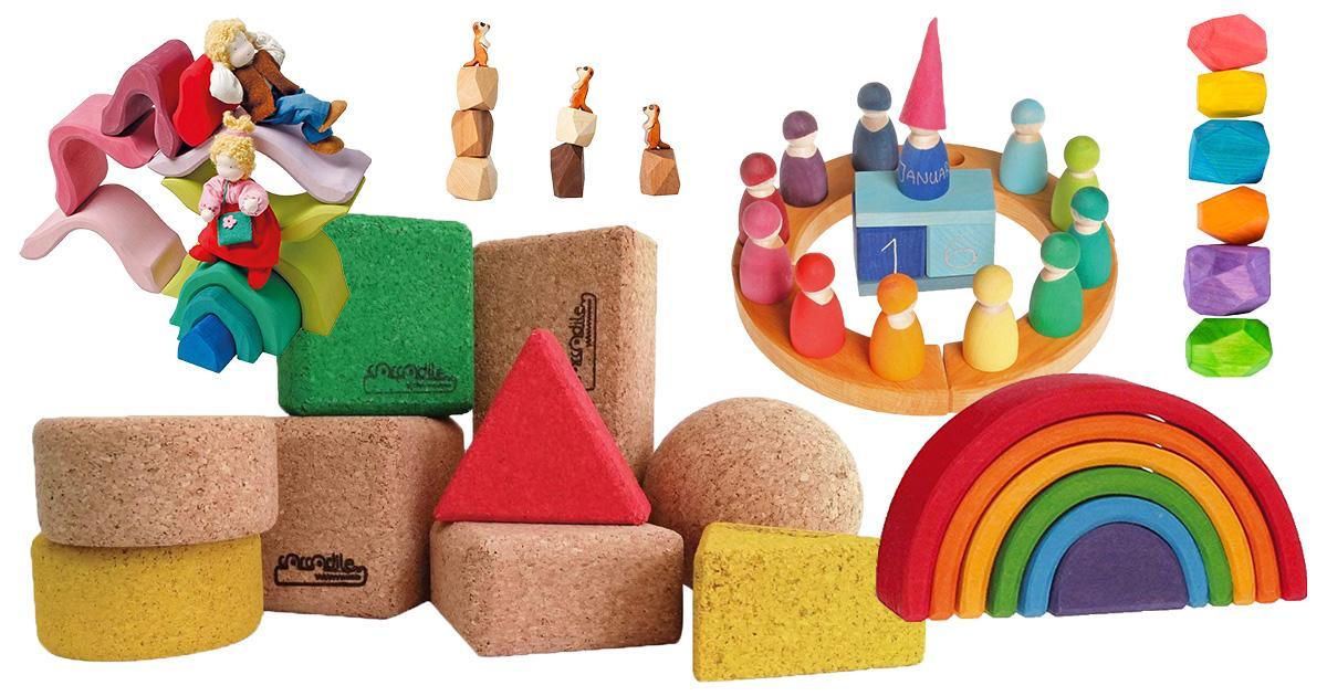Waldorf-Spielsachen für Kleinkinder