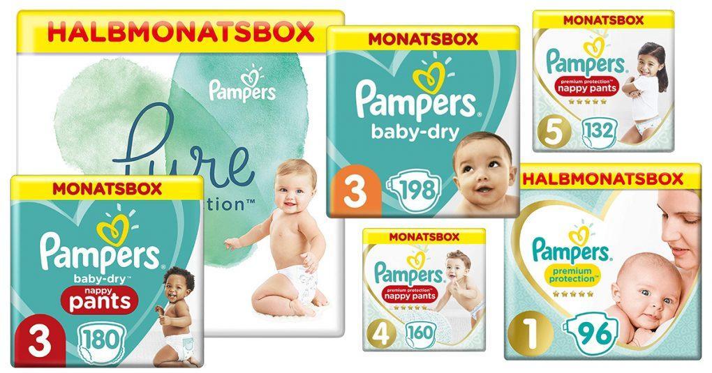 Pampers für Babys (Größe 1-5)