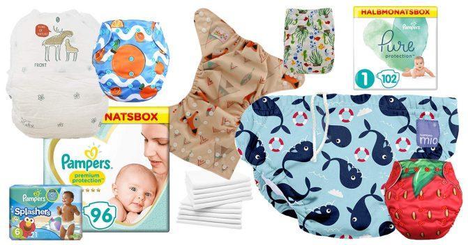 Windeln für Babys