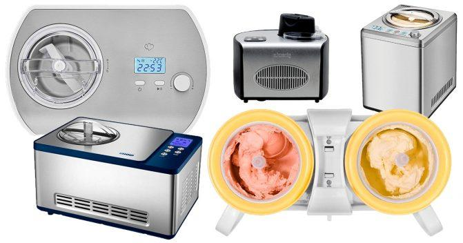 Eismaschinen für zuhause