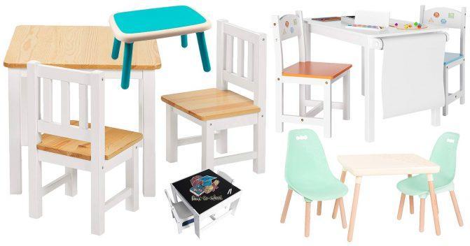 Tische für Kinder