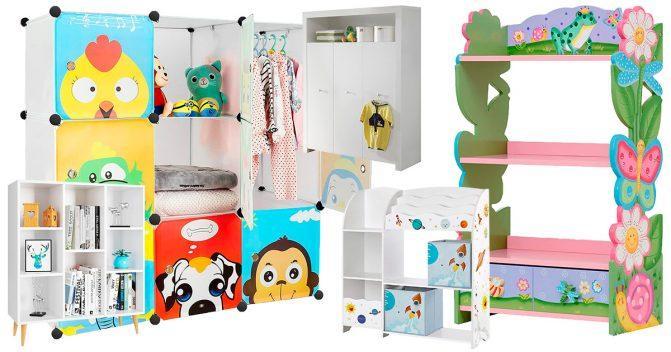 Kinderzimmer-Schränke