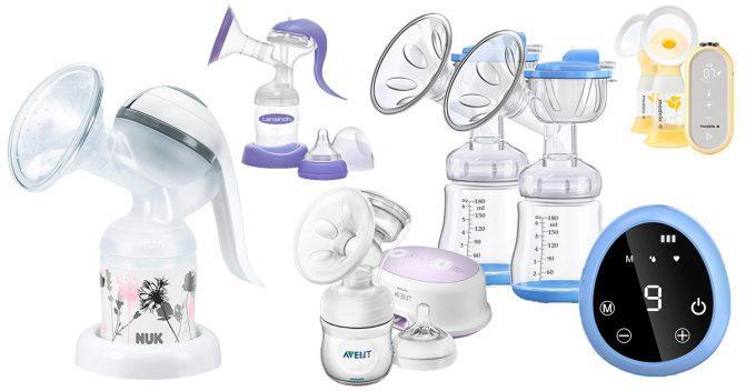 Milchpumpen für Mütter