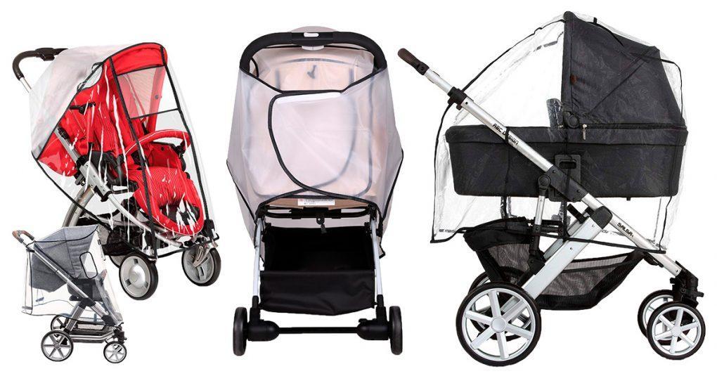 Regenschutze für Kinderwägen