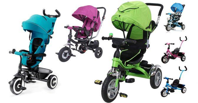 Dreirad-Kinderbuggys