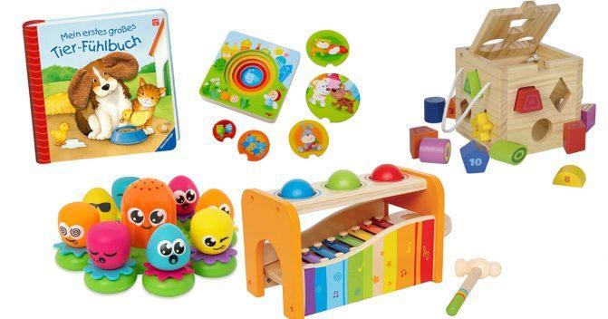 Babyspielzeug bis 12 Monate
