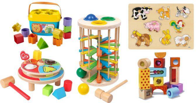 Babyspielzeug bis 18 Monate