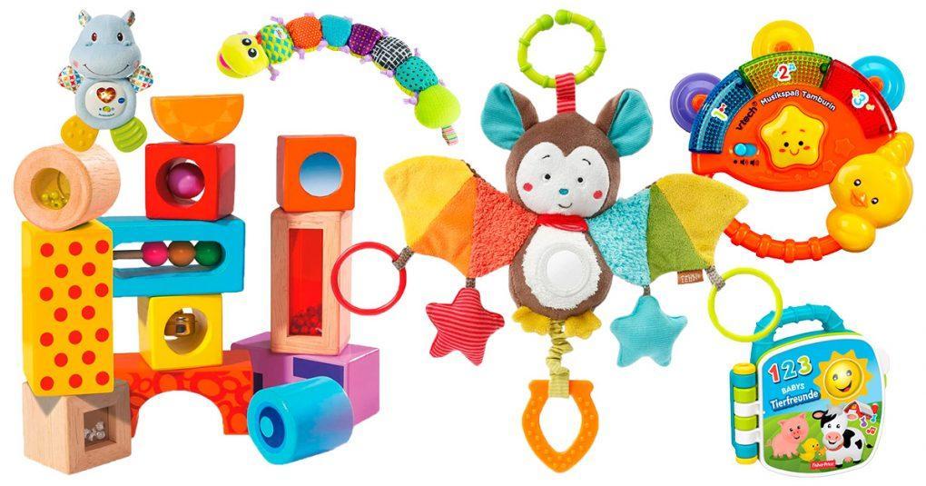 Spielsachen mit Geräuschen für Babys