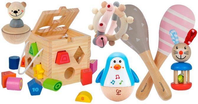 Holzspielsachen für Babys