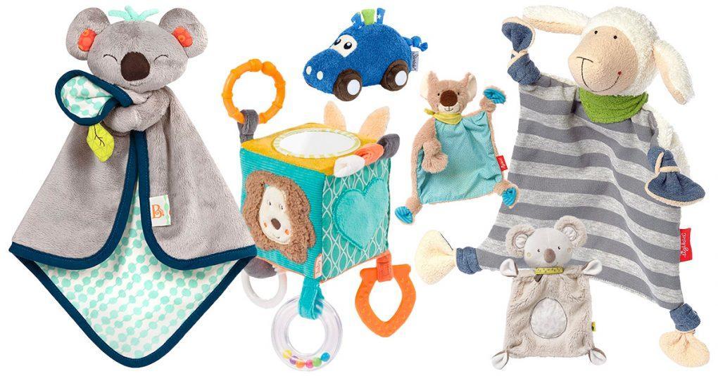 Stoffspielsachen für Babys
