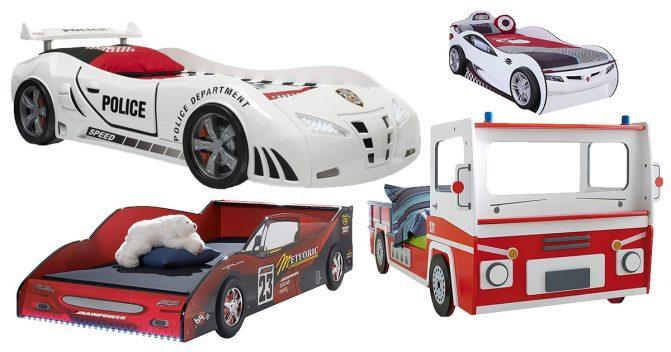 Autobetten für Kinder
