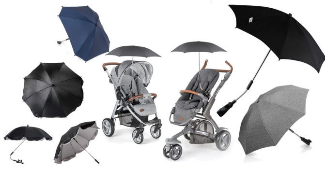 Kinderwagen-Sonnenschirm
