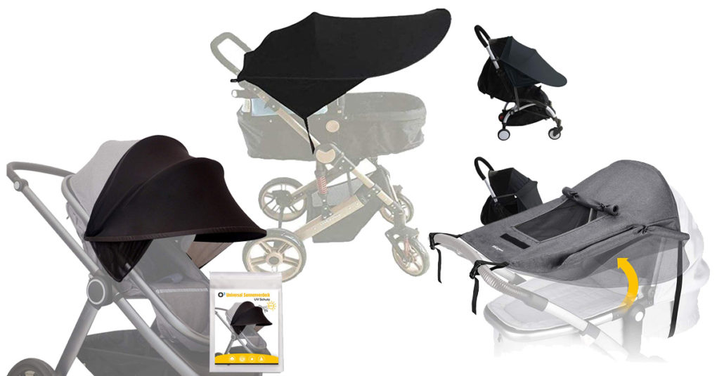 Kinderwagen-Sonnensegel