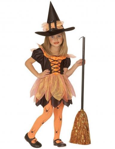 kleine-hexe-madchenkostum-fasching-und-halloween-schwarz-orange