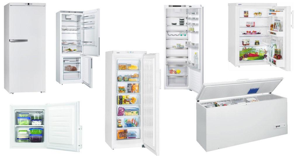 Kühl- und Gefriergeräte