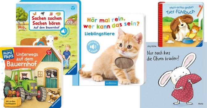 Kinderbücher 1 Jahr