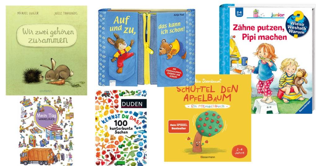 Kinderbücher für 2 Jährige