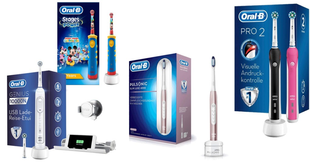 Elektrische Zahnbürste Oral B