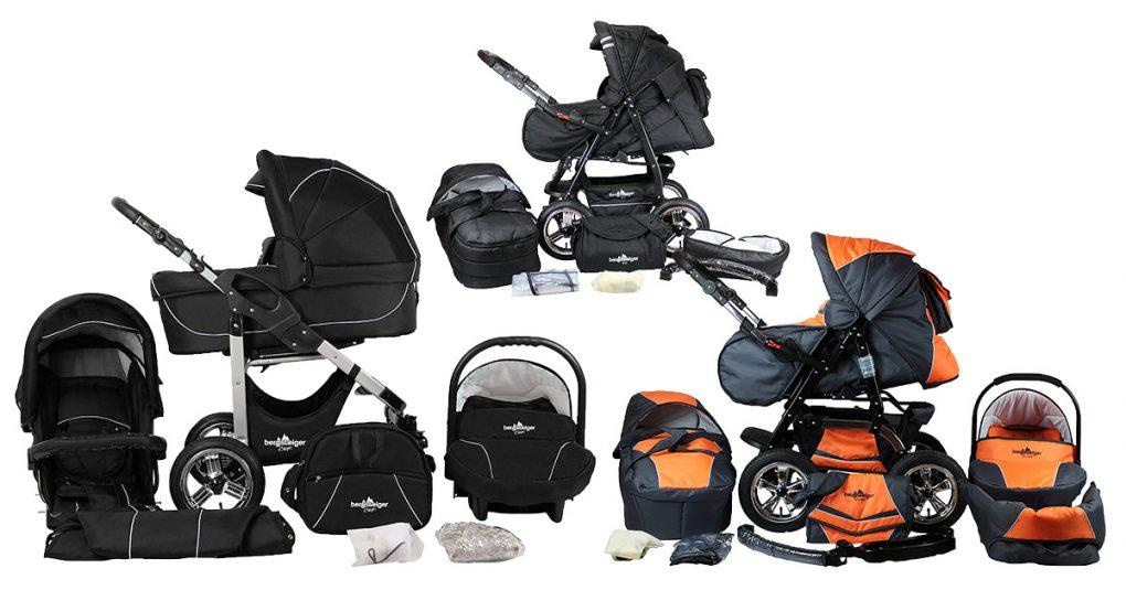 Bergsteiger-Kinderwägen