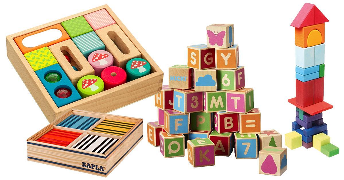 Holzspielzeug 5+ Jahre Spielzeug Matador Klassik 2 Buchenholzklötze