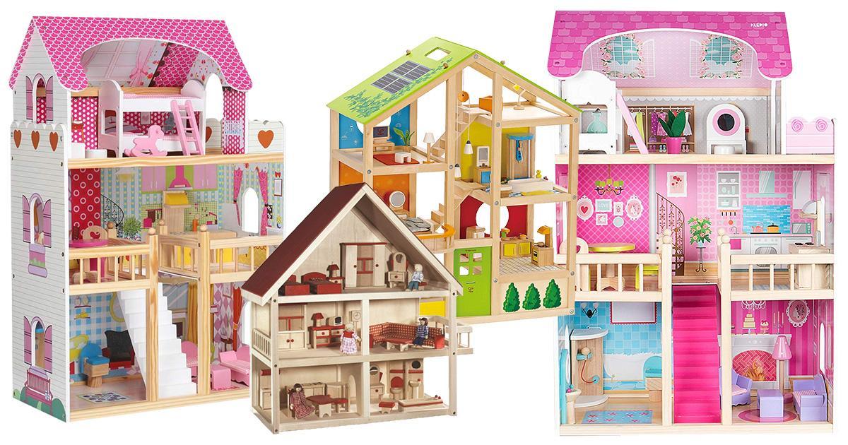 Puppenhäuser aus Holz