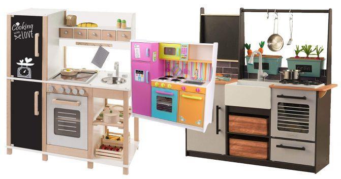 Spielküchen aus Holz