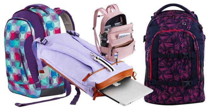 Schulrucksäcke für Mädchen