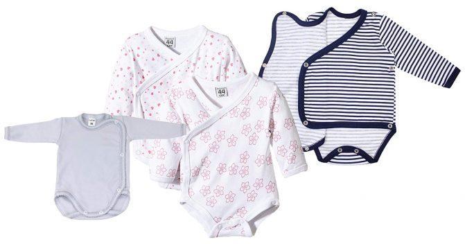 Wickelbodys für Babys