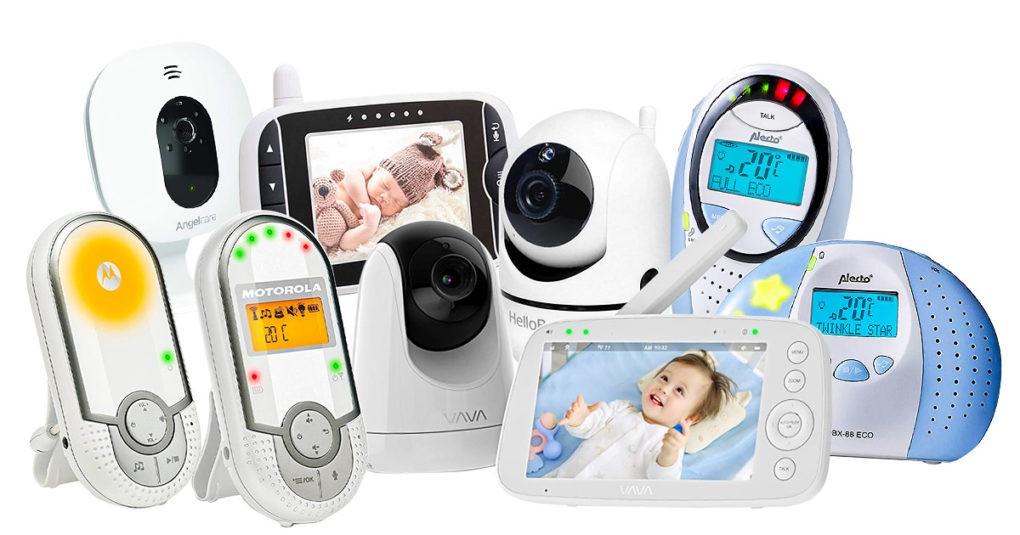 Babyphone-mit-Temperaturanzeige